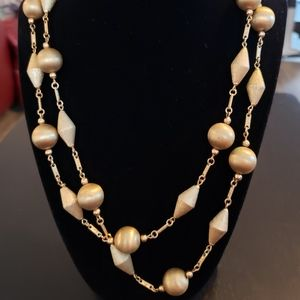 💕Gold Bead Necklace